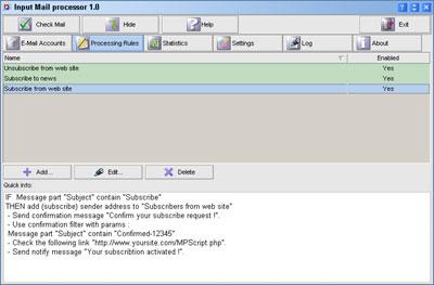 Mail Processor